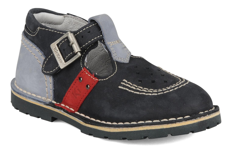 Stiefeletten & Boots Kickers Liko blau detaillierte ansicht/modell