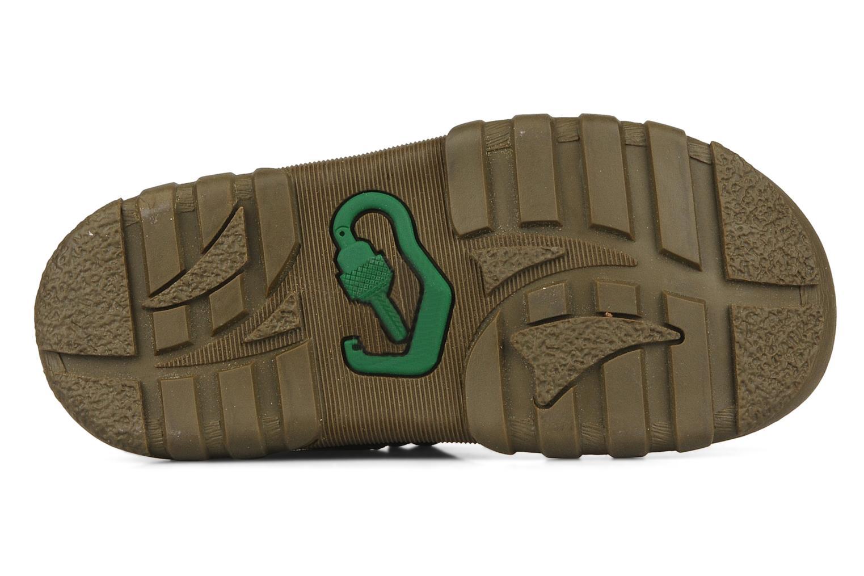 Sandales et nu-pieds Kickers Racky Marron vue haut