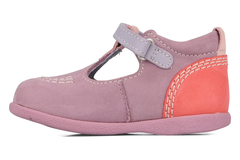 Stiefeletten & Boots Kickers Babyfrench lila ansicht von vorne