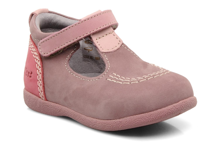 Stiefeletten & Boots Kickers Babyfrench rosa detaillierte ansicht/modell