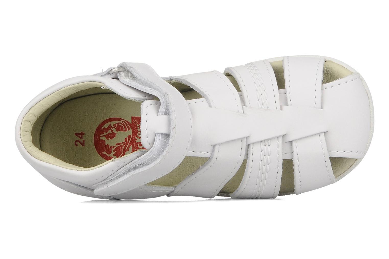 Sandales et nu-pieds Kickers Babysun Blanc vue gauche