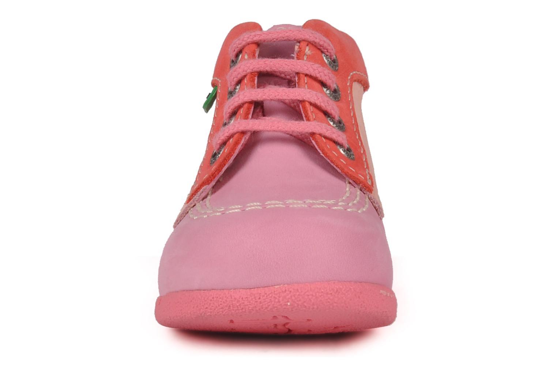 Stiefeletten & Boots Kickers Babystart rosa schuhe getragen