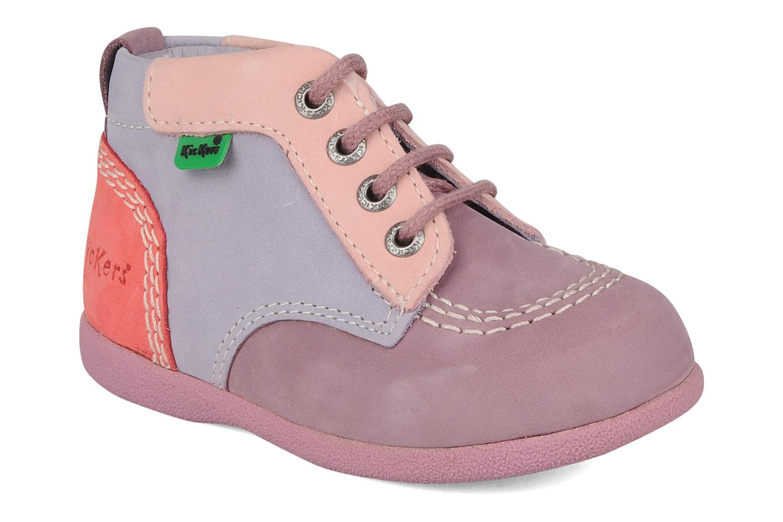 Stiefeletten & Boots Kickers Babystart lila detaillierte ansicht/modell