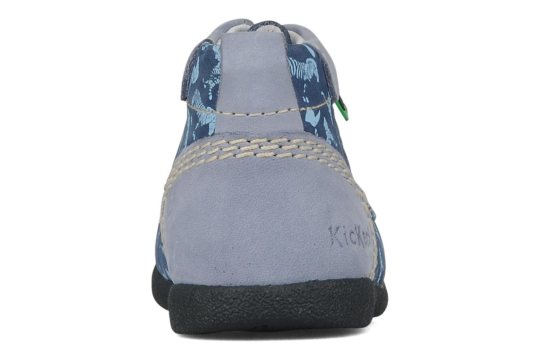 Bottines et boots Kickers Babystart Bleu vue droite