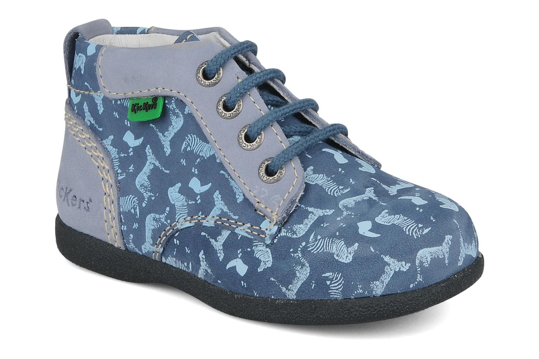 Bottines et boots Kickers Babystart Bleu vue détail/paire