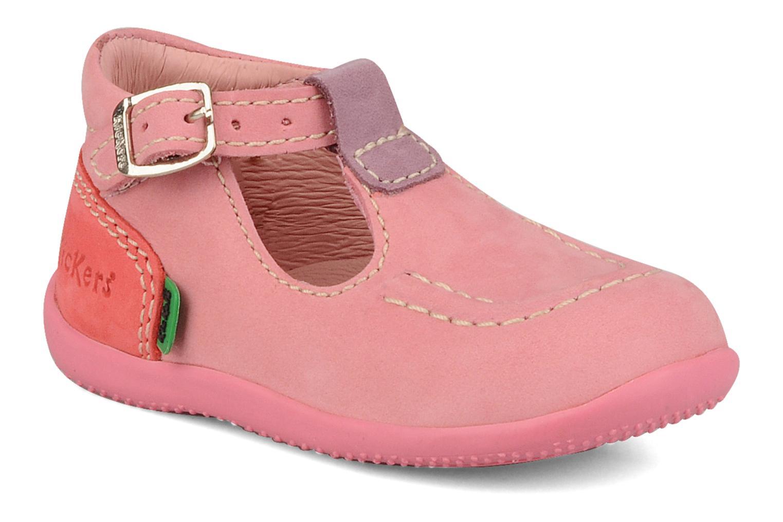 Bottines et boots Kickers Bonbek minnie Rose vue détail/paire