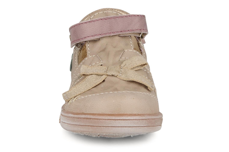 Stiefeletten & Boots Kickers Trankil beige schuhe getragen