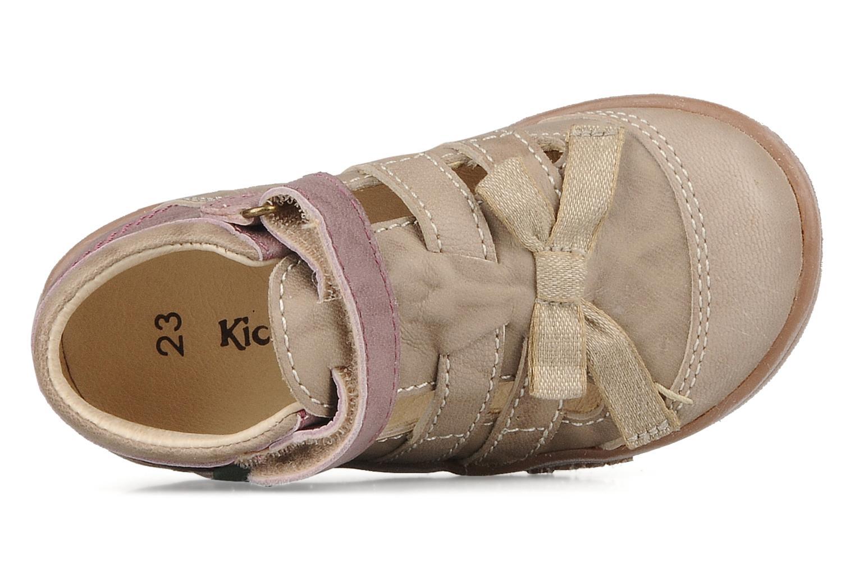 Stiefeletten & Boots Kickers Trankil beige ansicht von links