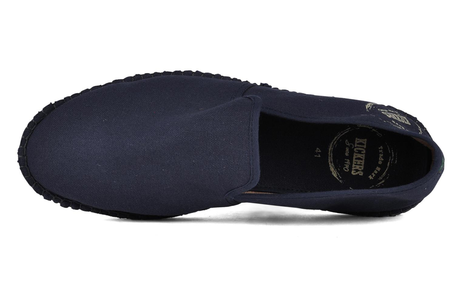 Slipper Kickers Flexup blau ansicht von links