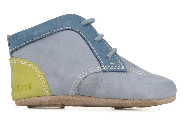 Stiefeletten & Boots Kickers 2B Big blau ansicht von hinten