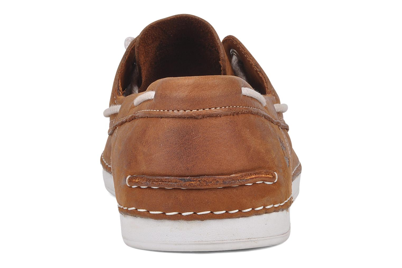 Chaussures à lacets Timberland Earthkeepers 2.0 2 eye boat Marron vue derrière