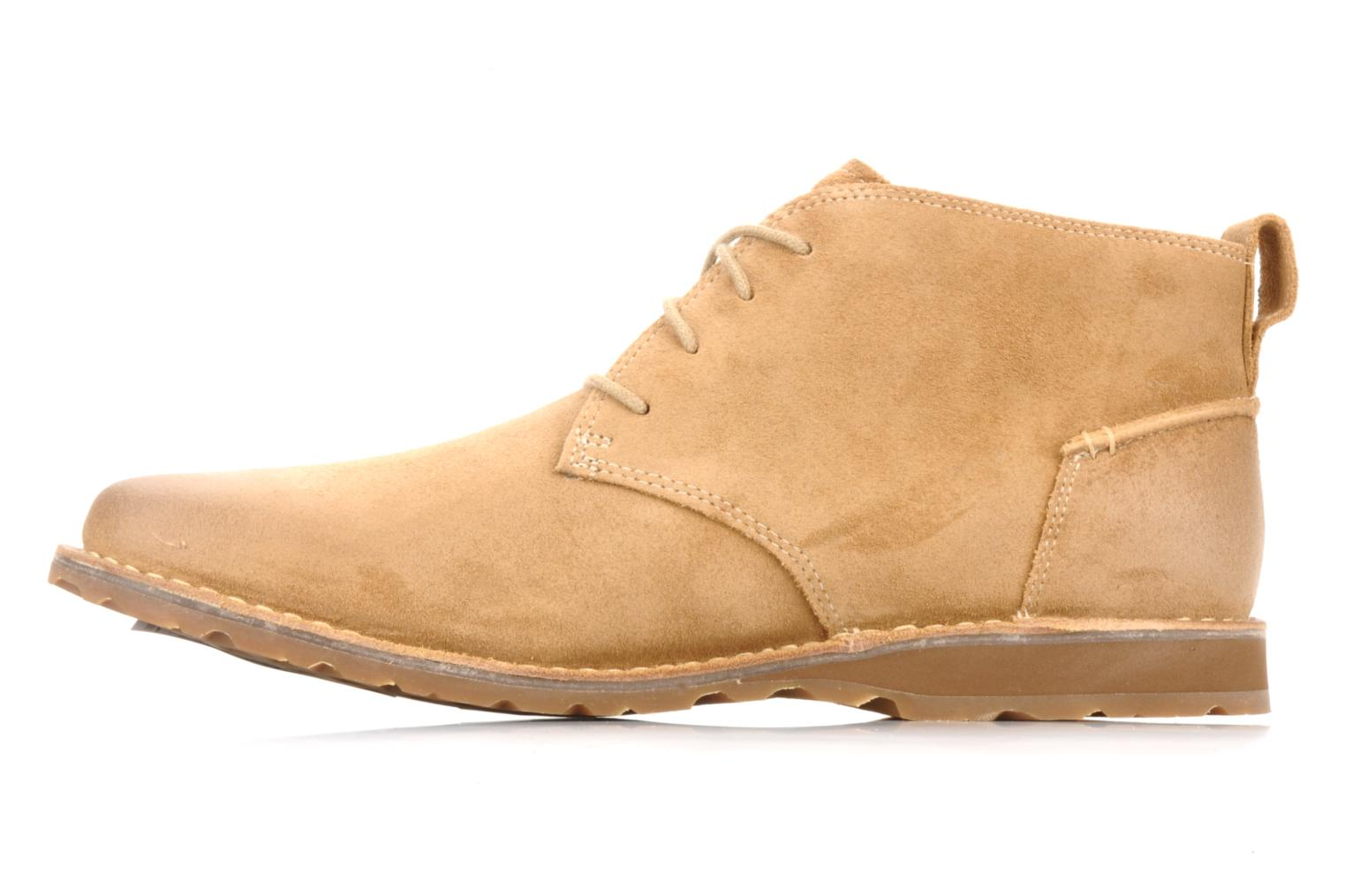 Bottines et boots Timberland Earthkeepers suede desert boot Beige vue face