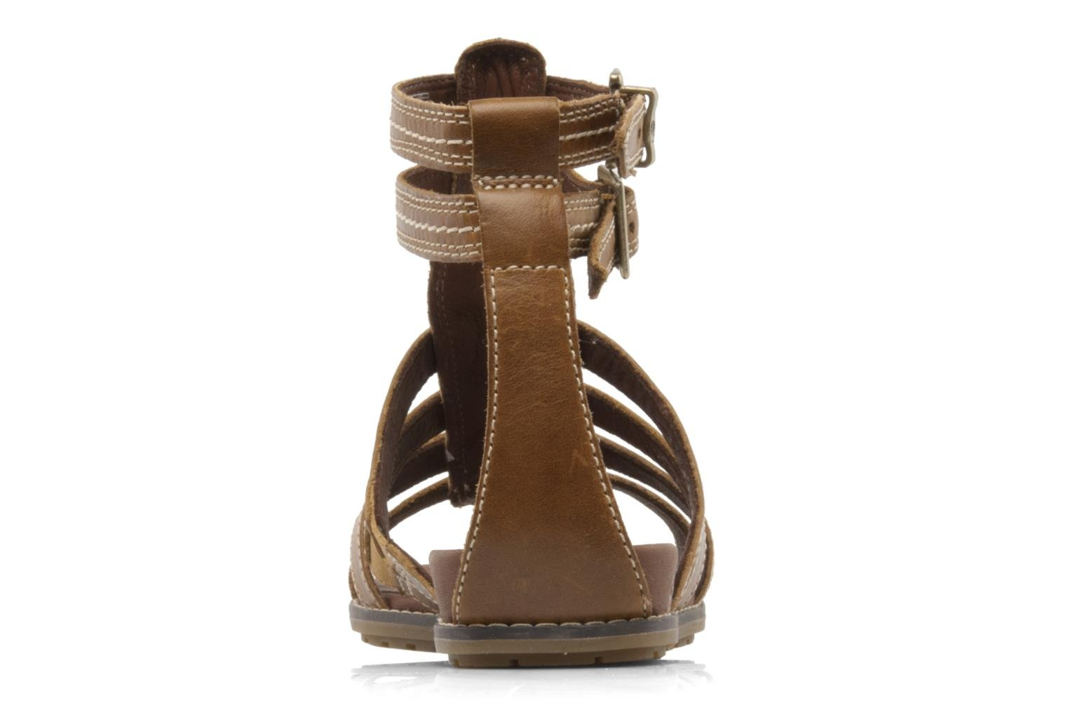 Sandales et nu-pieds Timberland Earthkeepers kennebunk braided gladiator Marron vue droite