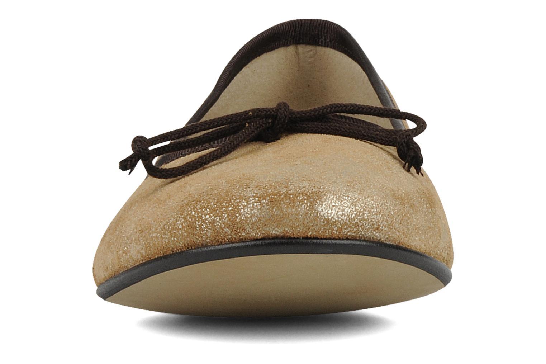 Ballerines Valensi Angélie Marron vue portées chaussures