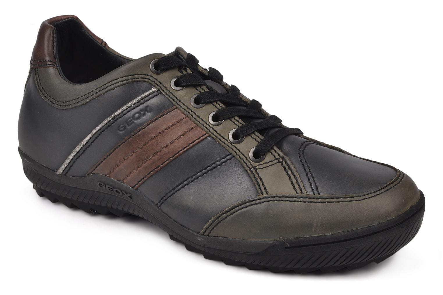 Trainers Geox U italo n Green detailed view/ Pair view