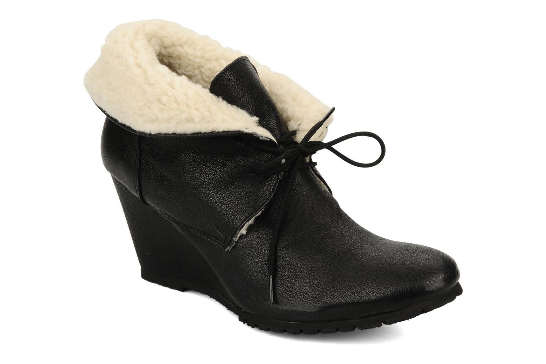Boots en enkellaarsjes Eden Mimia Zwart detail