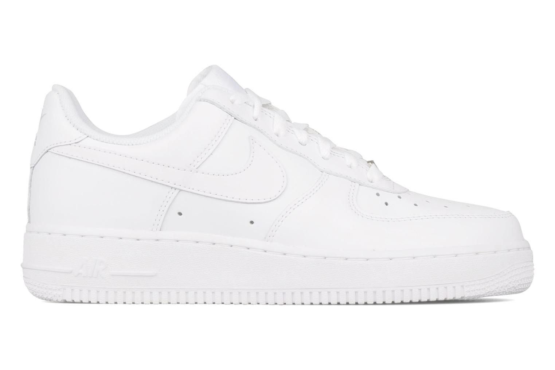 Sneaker Nike Air force 1 '07 le weiß ansicht von hinten