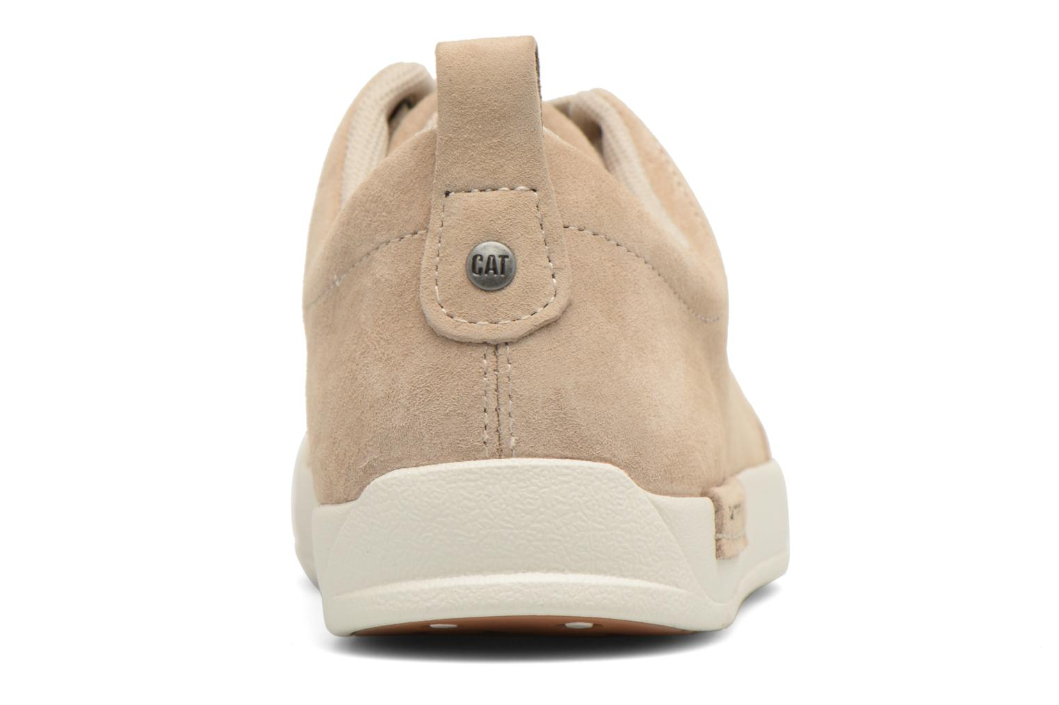 Trainers Caterpillar Modesto Beige view from the right