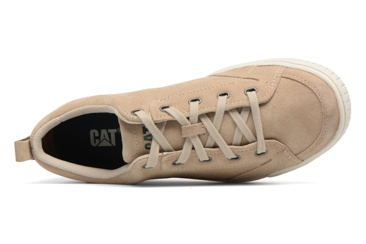 Trainers Caterpillar Modesto Beige view from the left