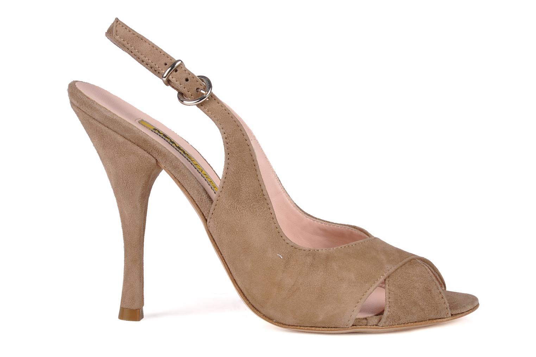 Sandali e scarpe aperte Manas Pulino Beige immagine posteriore