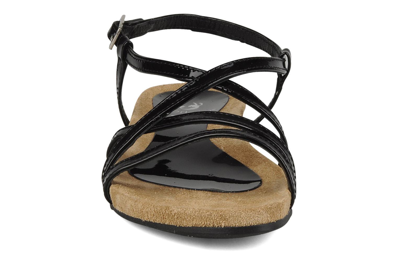 Sandalen Perlato Izalik schwarz schuhe getragen
