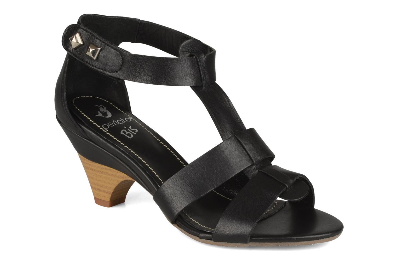 Sandalen Perlato Kusmi Zwart detail