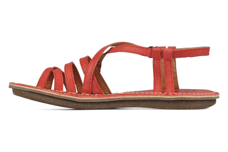 Sandales et nu-pieds Kickers Pinuts 2 Rouge vue face