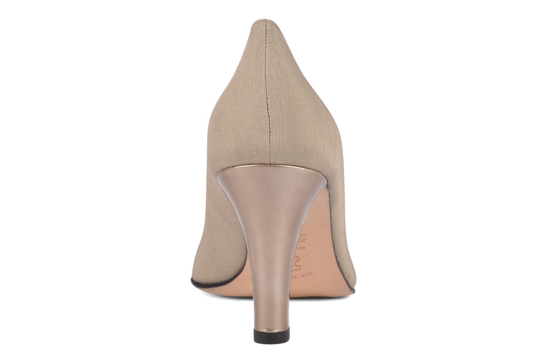 Zapatos de tacón Carel Verveine Beige vista lateral derecha