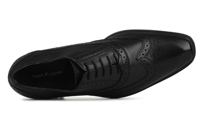 Chaussures à lacets Hush Puppies Eastfield Noir vue gauche