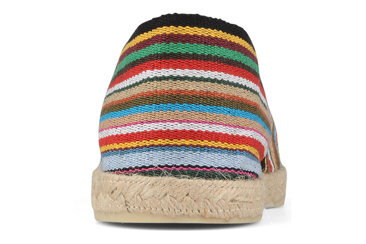 Espadrilles La maison de l'espadrille Sabline Rayure H Multicolor view from the right