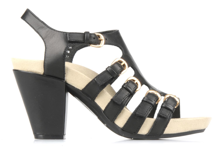 Sandales et nu-pieds Kalso Earth Larissa Noir vue derrière