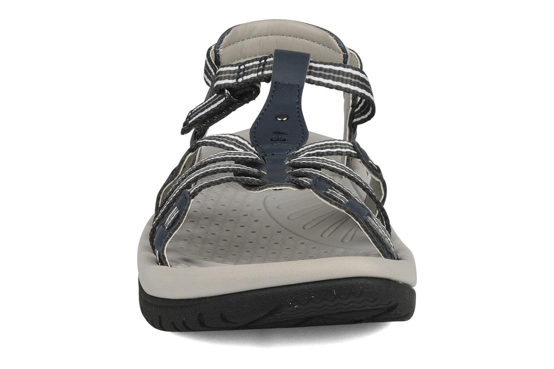 Sandales et nu-pieds Kalso Earth Puerta Gris vue portées chaussures