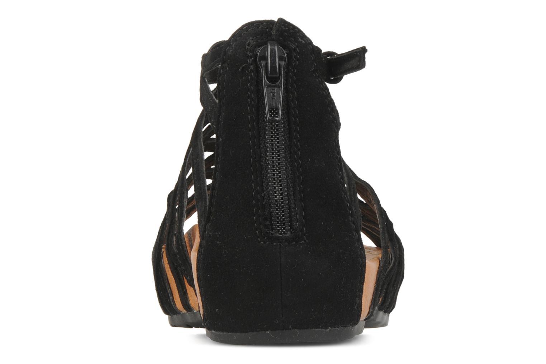 Sandales et nu-pieds Kalso Earth Exquisite Noir vue droite