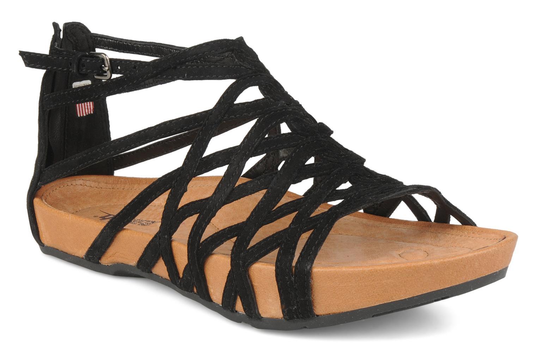 Sandales et nu-pieds Kalso Earth Exquisite Noir vue détail/paire