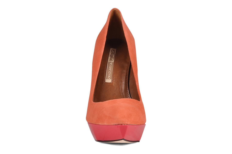 Escarpins Buffalo Pulli Orange vue portées chaussures