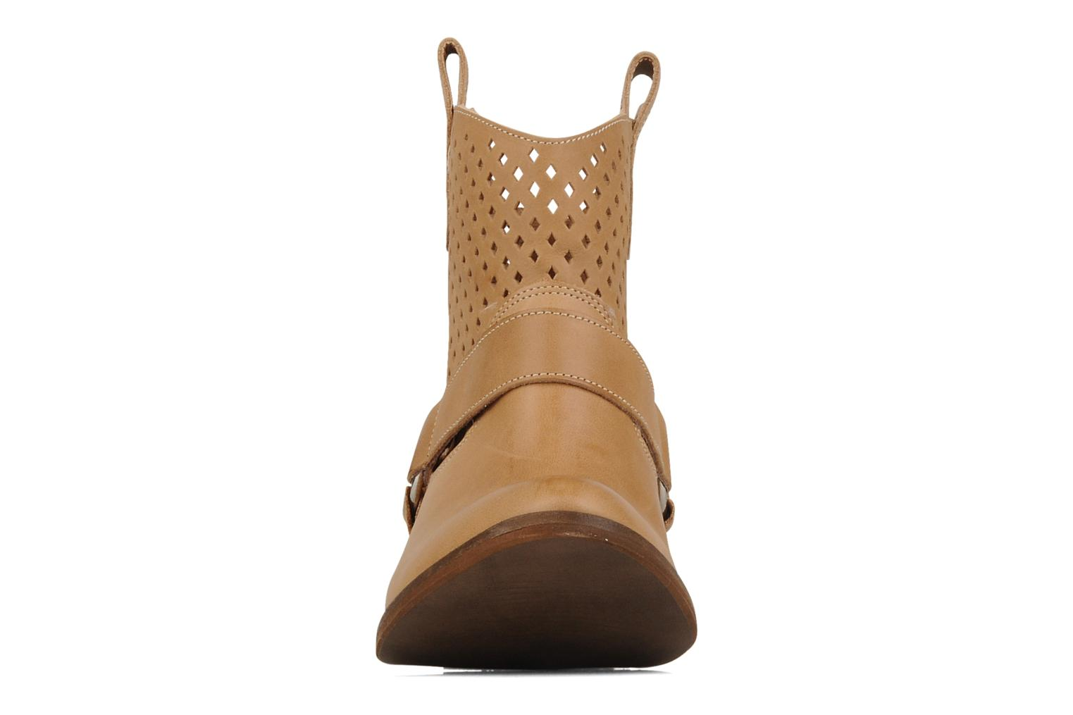 Ankle boots San Marina Alems Beige model view