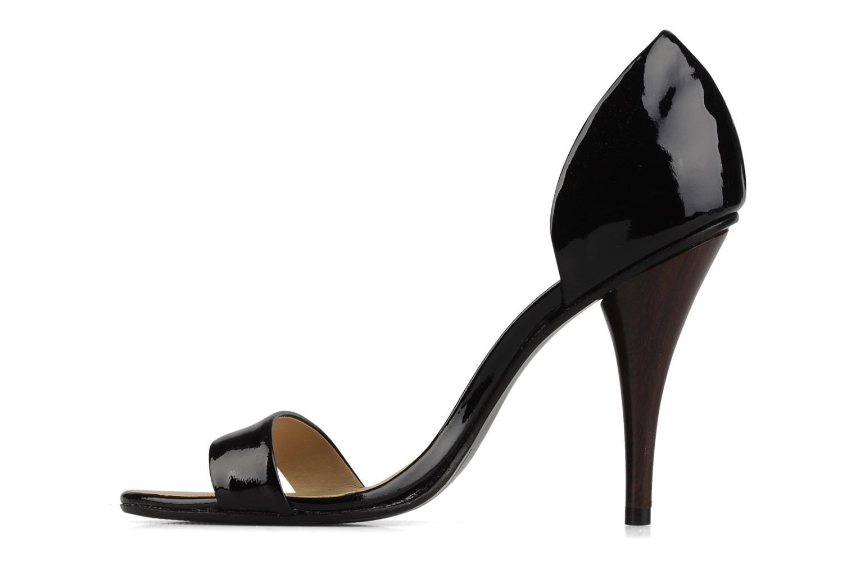 Sandales et nu-pieds COSMOPARIS Lolla Noir vue face