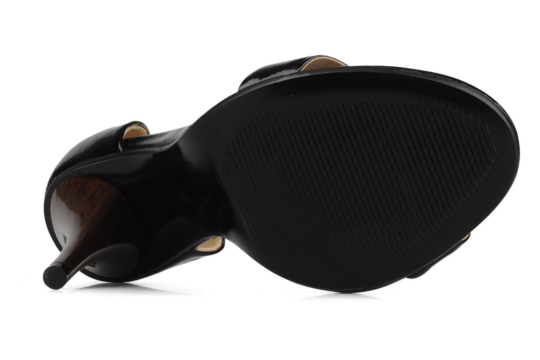 Sandales et nu-pieds COSMOPARIS Lolla Noir vue haut