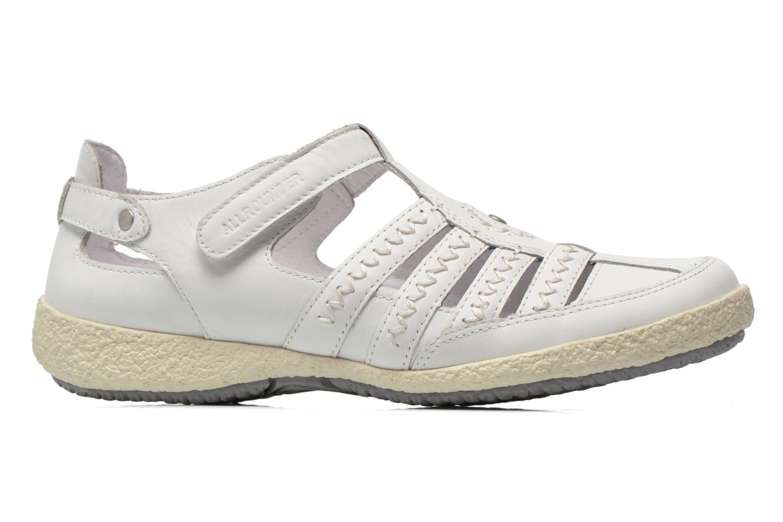 Sandales et nu-pieds Allrounder by Mephisto Galina Blanc vue derrière