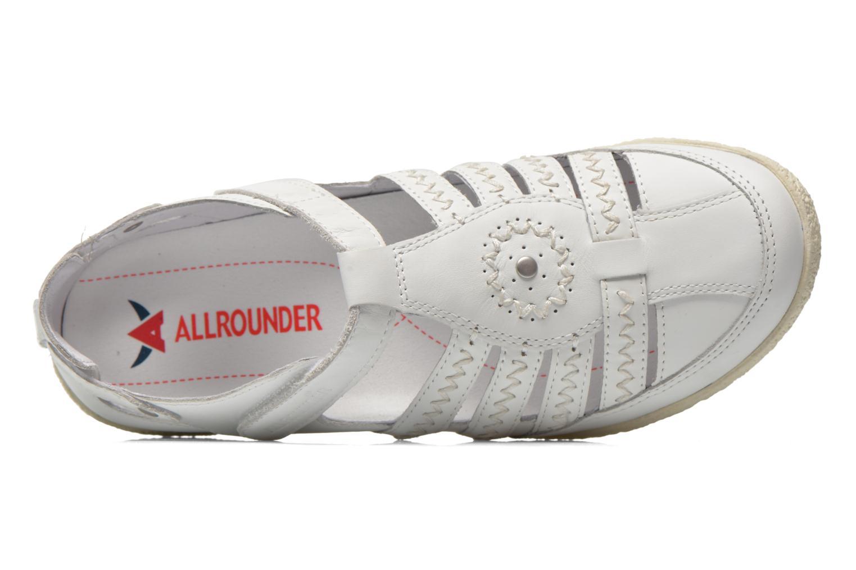 Sandales et nu-pieds Allrounder by Mephisto Galina Blanc vue gauche