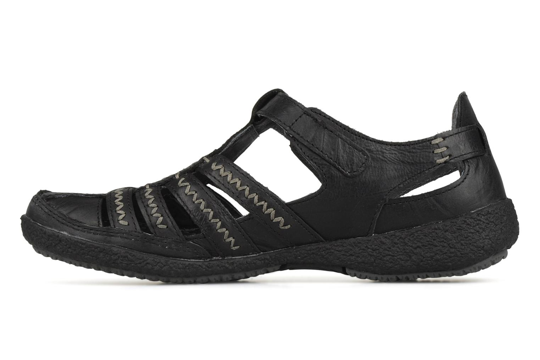Sandales et nu-pieds Allrounder by Mephisto Galina Noir vue face