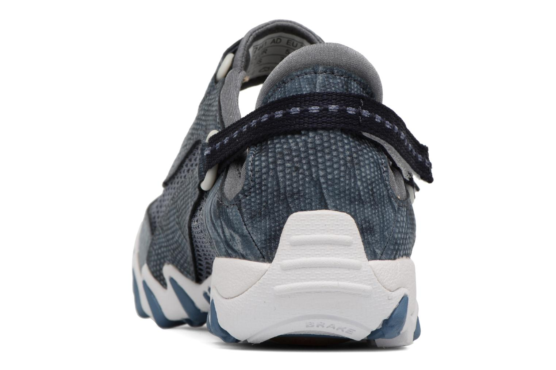 Zapatillas de deporte Allrounder by Mephisto Niro Azul vista lateral derecha