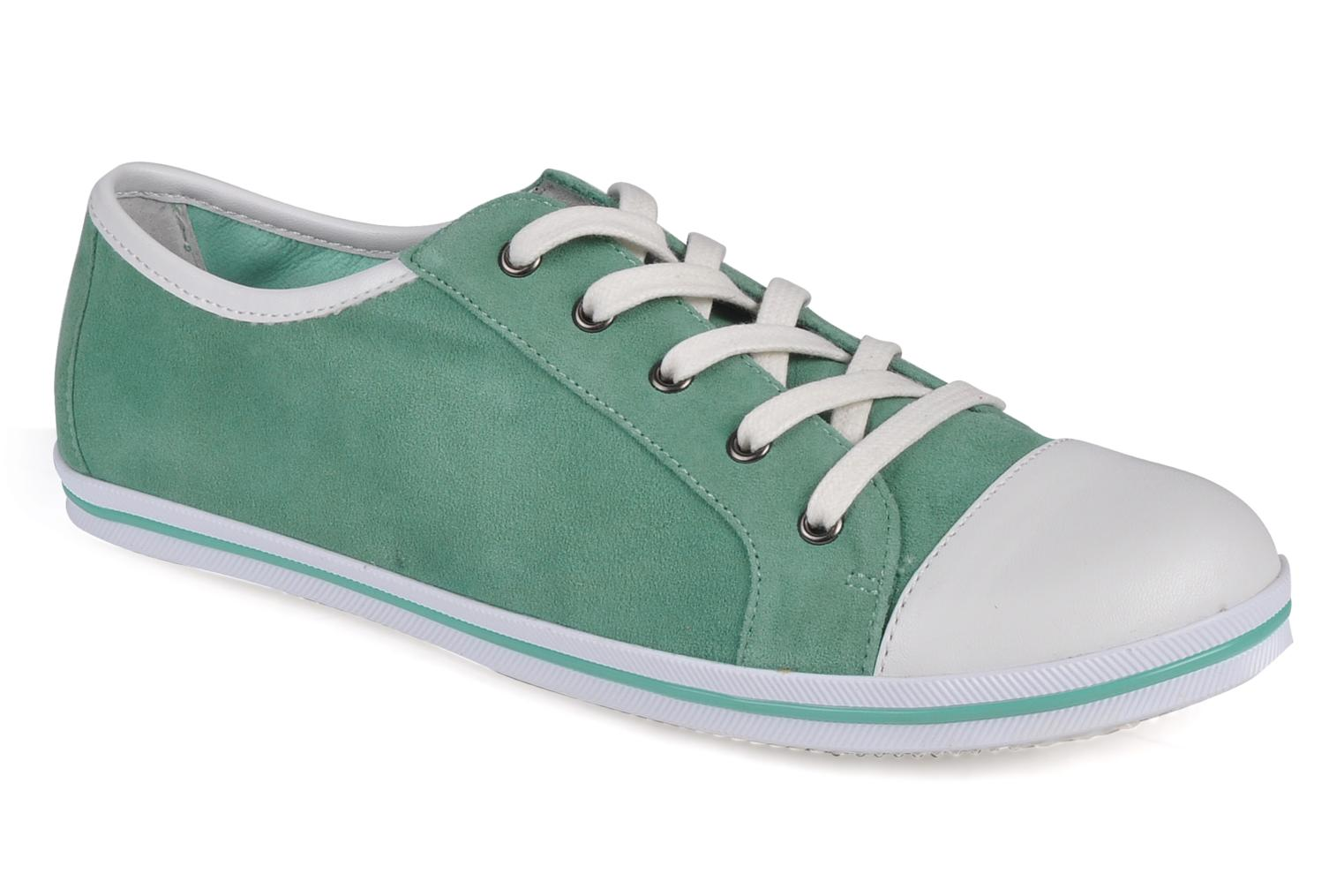 Trainers Georgia Rose Barilie Green detailed view/ Pair view