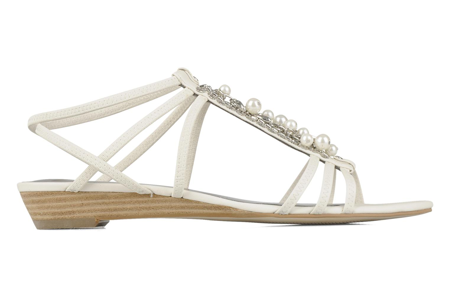 Sandals Guess Trina White back view