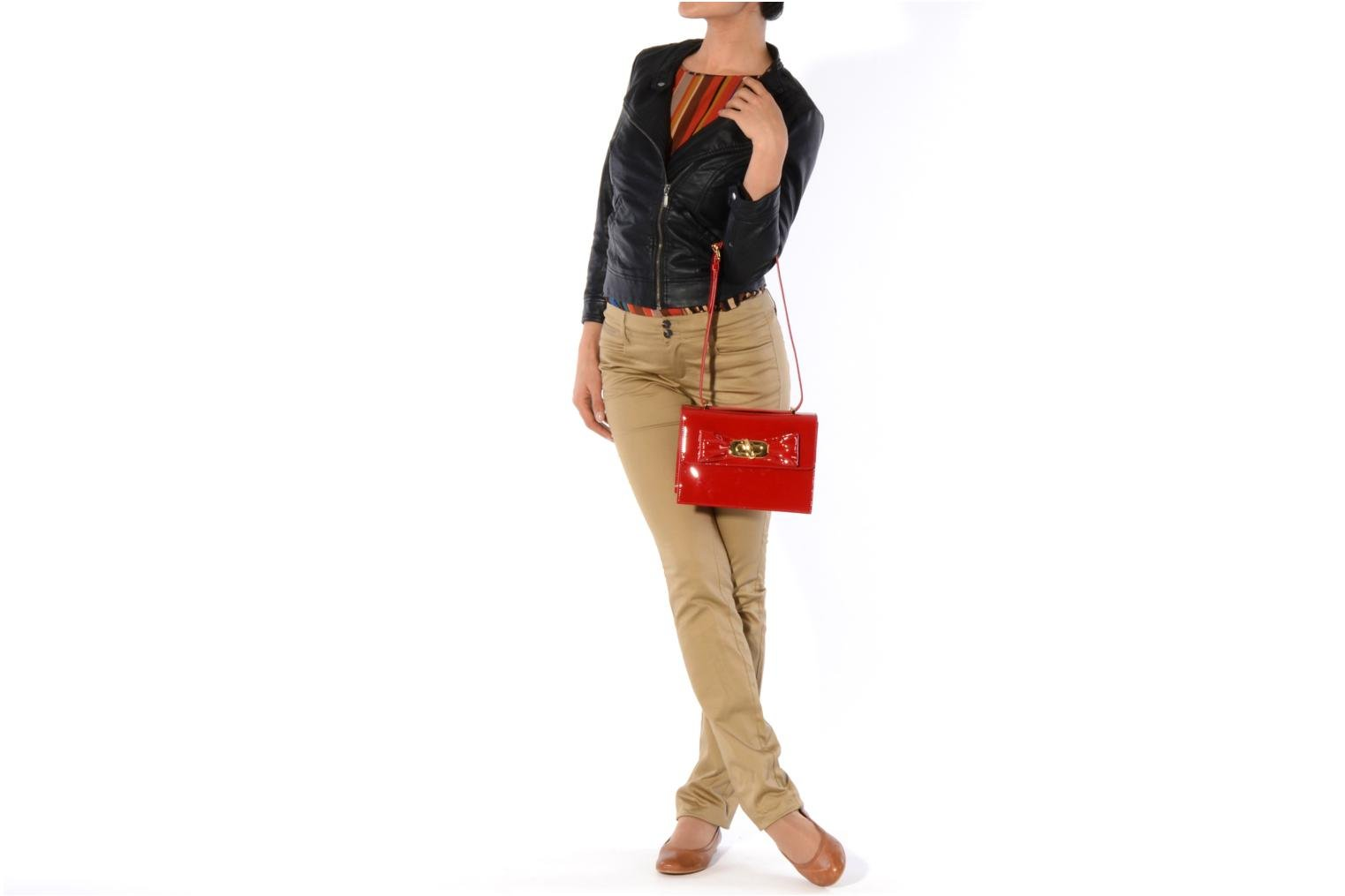 Handbags Moschino Cheap & Chic Spic Red view from above