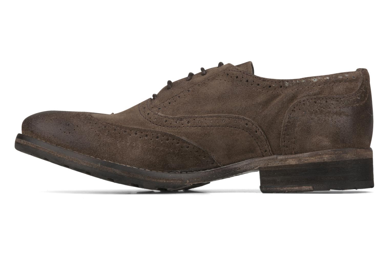 Chaussures à lacets Koah Karl 143 Marron vue face