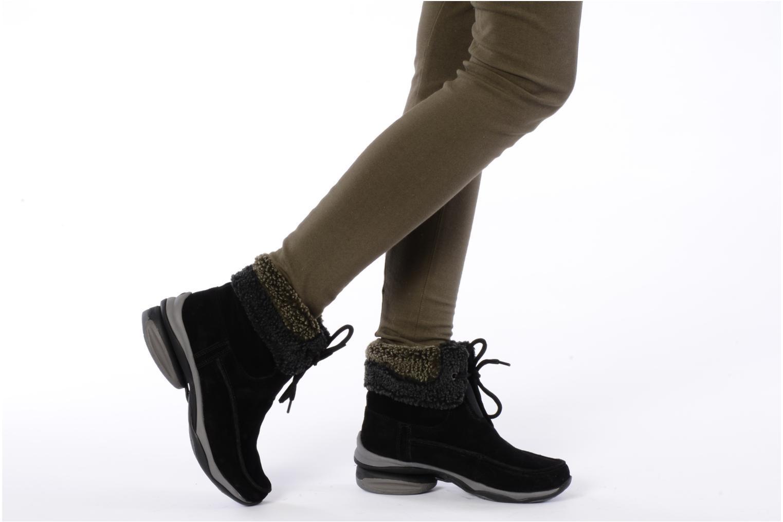 Bottines et boots Hush Puppies Rotate Noir vue bas / vue portée sac
