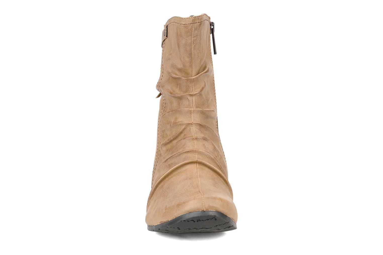 Bottines et boots Mustang shoes Simur Beige vue portées chaussures