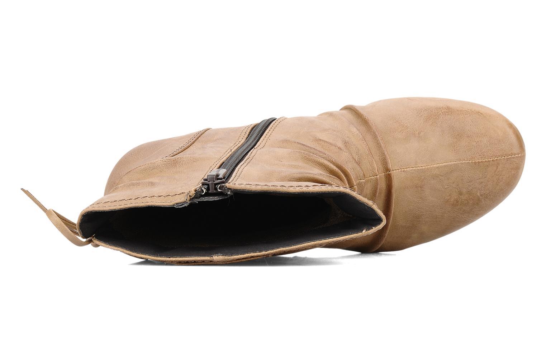Bottines et boots Mustang shoes Simur Beige vue gauche