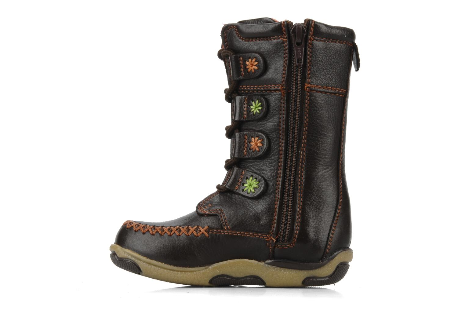 Boots & wellies Hush Puppies Spice Brown front view